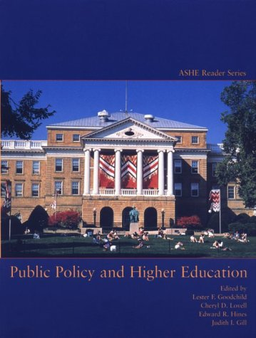 Public Policy and Higher Education 9780536002921