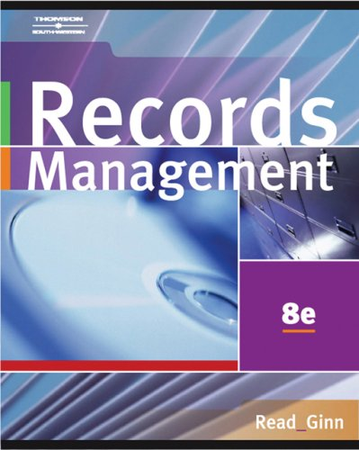 Records Management: [With CDROM] 9780538729567