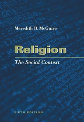 Religion: The Social Context 9780534541262