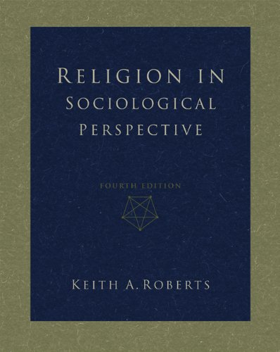 Religion in Sociological Perspective 9780534579517