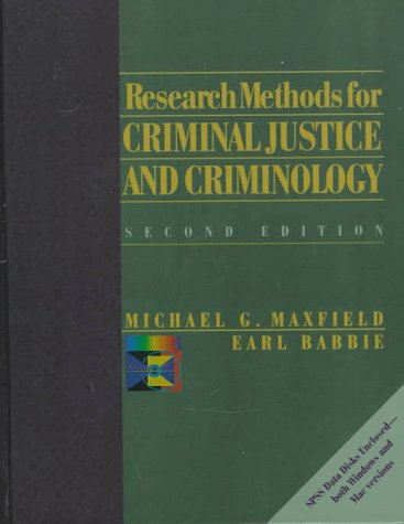 Research Methods for Criminal Justice and Criminology 9780534521646