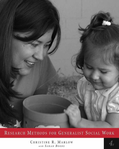 Research Methods for Generalist Social Work (with Infotrac) [With Infotrac] 9780534541590