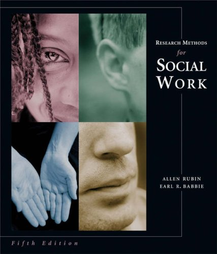 Research Methods for Social Work [With Infotrac] 9780534621094