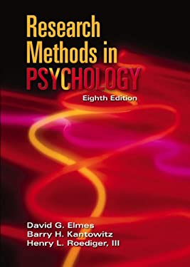 Research Methods in Psychology 9780534609764