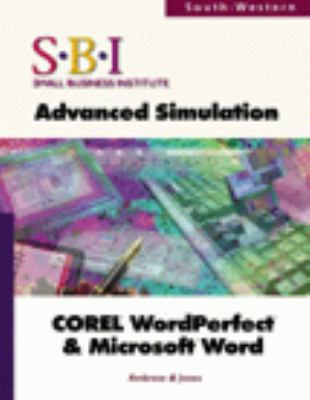 Sbi: An Advanced Simulation for Corel WordPerfect & Microsoft(r) Word [With Workbook and Disk] 9780538683890