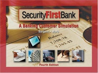 Security First Bank Simulation 9780538431873