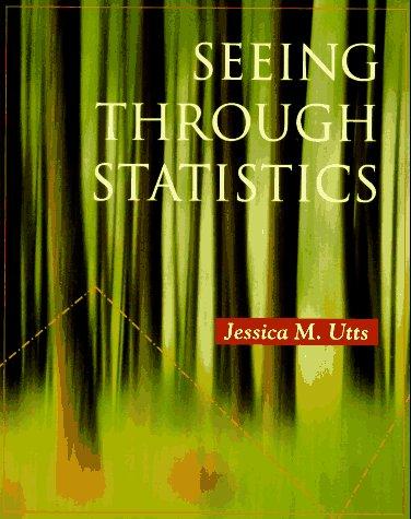 Seeing Through Statistics 9780534257767