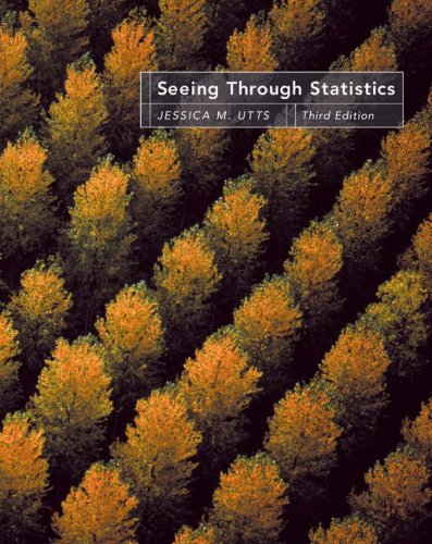 Seeing Through Statistics (with CD-ROM and Infotrac) [With CDROM and Infotrac] 9780534394028