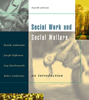 Social Work and Social Welfare 9780534526023
