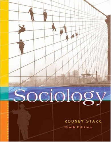 Sociology 9780534609399