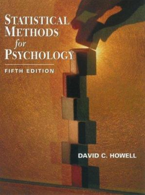 Statistical Methods for Psychology [With CDROM and Infotrac] 9780534377700