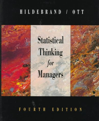 Statistical Thinking for Managers 9780534204068