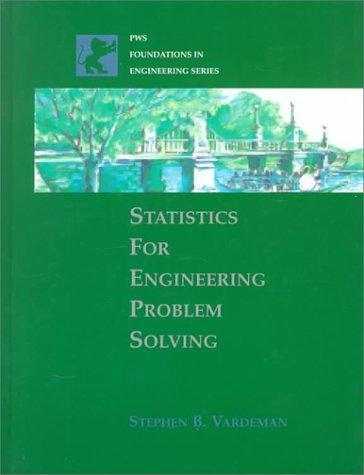 Statistics for Engineering Problem Solving
