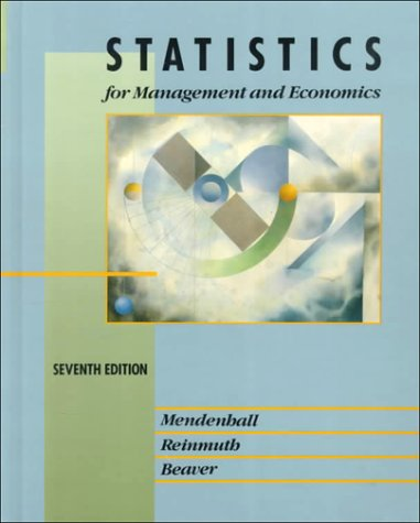 Statistics for Management and Economics 9780534932992