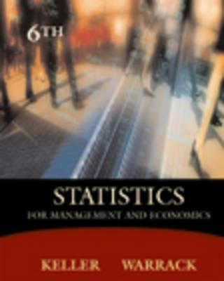 Statistics for Management and Economics: Systematic Approach (Non-Infotrac Version) 9780534391652