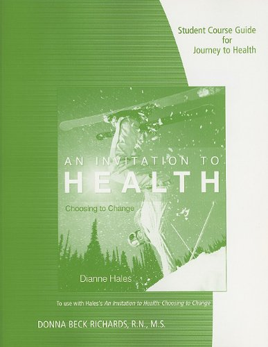 Student Course Guide for Journey to Health: Mind - Body - Spirit: An Introduction to Health and Wellness 9780538497800