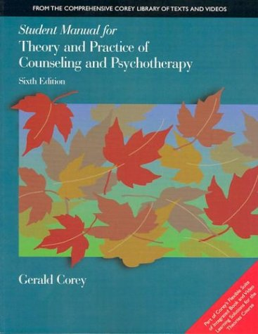 Student Manual for Theory and Practice of Counseling and Psychotherapy 9780534348243