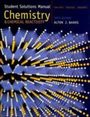 Student Solutions Manual for Kotz/Treichel/Weaver's Chemistry & Chemical Reactivity 9780534998523
