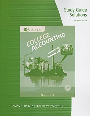 Study Guide Solutions for College Accounting: Chapters 10-15 9780538750721