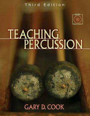Teaching Percussion [With 2 DVD Set] 9780534509903