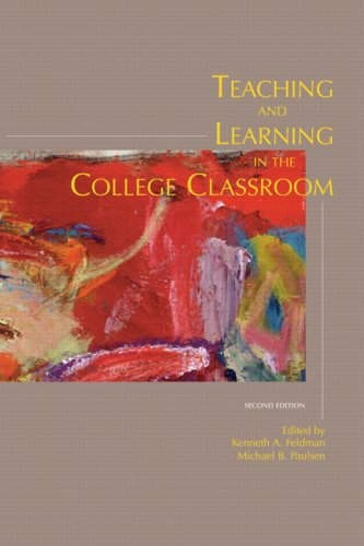 Teaching and Learning in the College Classroom 9780536010650