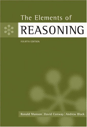 The Elements of Reasoning 9780534584559