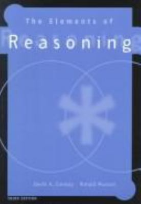 The Elements of Reasoning 9780534519490