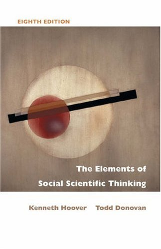 The Elements of Social Scientific Thinking 9780534614119