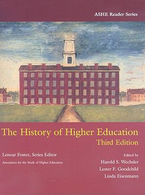 The History of Higher Education 9780536443410