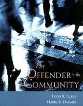 The Offender in the Community 1824498