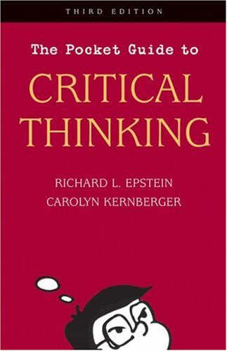 The Pocket Guide to Critical Thinking 9780534584290