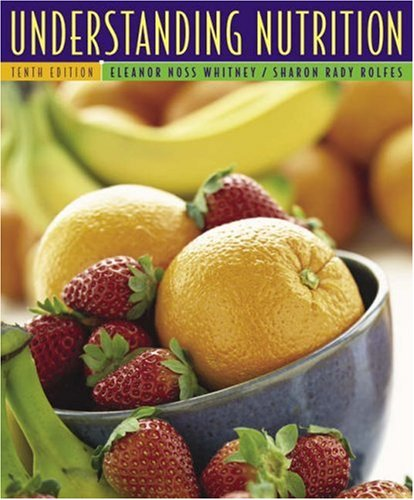 Understanding Nutrition [With CDROM and Infotrac] 9780534622268