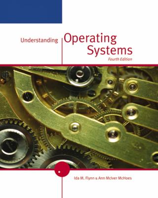 Understanding Operating Systems 9780534423667