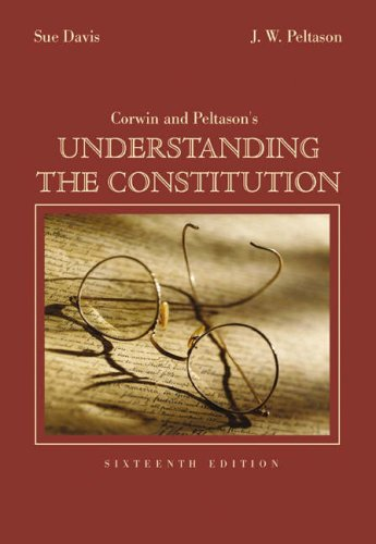 Understanding the Constitution 9780534614072