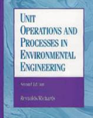 Unit Operations and Processes in Environmental Engineering - 2nd Edition