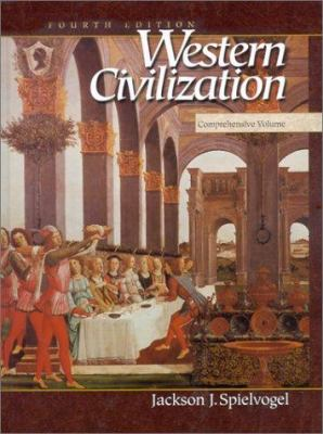 Western Civilization: Comprehensive Volume 9780534568351