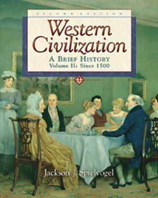 Western Civilization Volume II: 9780534587093
