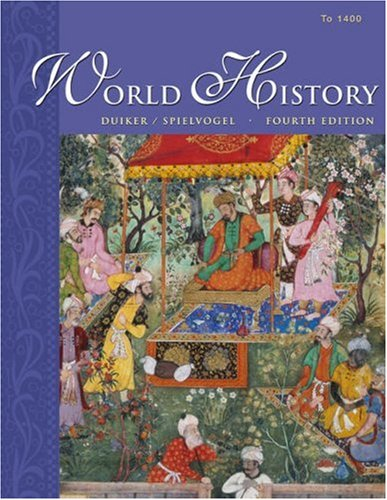 World History: To 1400 [With Infotrac] 9780534603663
