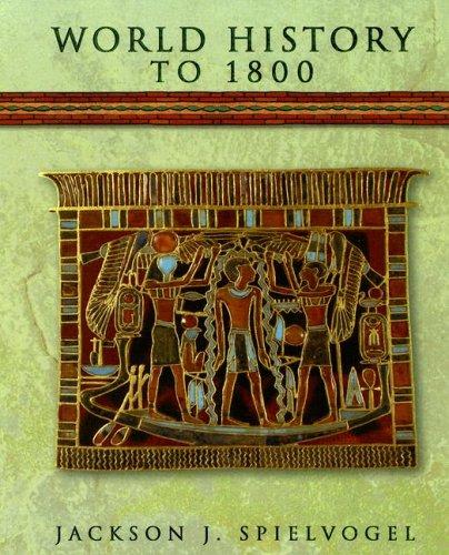 World History to 1800 9780538427593