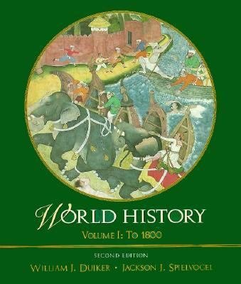 World History to 1800: Volume 1 9780534531188