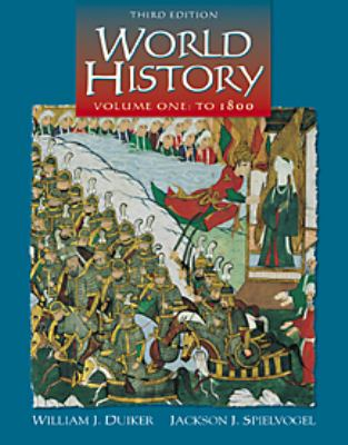 World History to 1800, Volume 1 (Non Info Track Version) 9780534571931