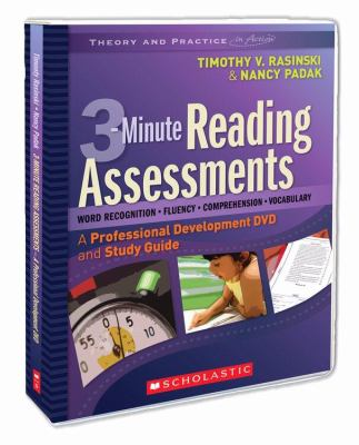 3-Minute Reading Assessments: A Professional Development DVD and Study Guide [With Study Guide] 9780545009157