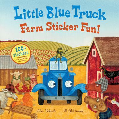 Little Blue Truck Farm Sticker Fun!