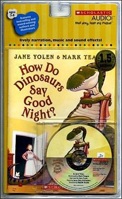 How Do Dinosaurs Say Goodnight? [With Paperback Book]