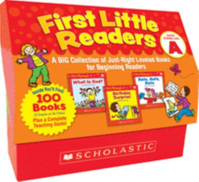 First Little Readers: Guided Reading Level a: A Big Collection of Just-Right Leveled Books for Beginning Readers 9780545223010