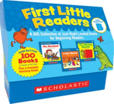 First Little Readers: Guided Reading Level B: A Big Collection of Just-Right Leveled Books for Beginning Readers [With Teacher's Guide] 9780545223027