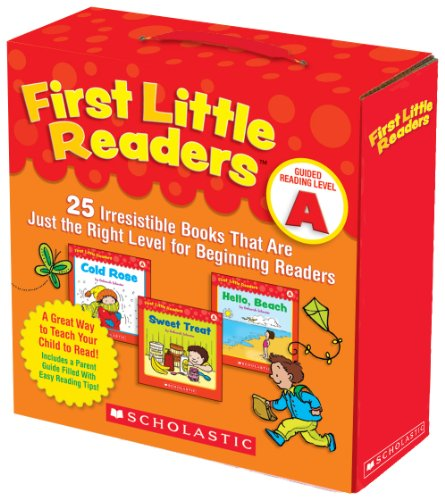 First Little Readers: Guided Reading Level A: 25 Irresistible Books That Are Just the Right Level for Beginning Readers 9780545231497