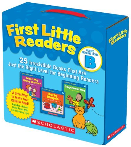 First Little Readers: Guided Reading Level B: 25 Irresistible Books That Are Just the Right Level for Beginning Readers