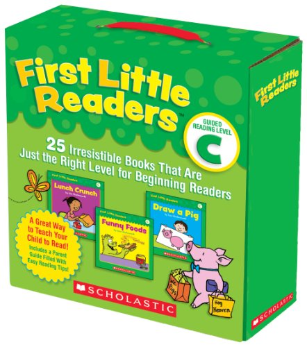 First Little Readers: Guided Reading, Level C: 25 Irresistible Books That Are Just the Right Level for Beginning Readers 9780545231510