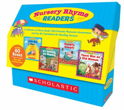 Nursery Rhyme Readers: A Collection of Classic Books That Promote Phonemic Awareness and Lay the Foundation for Reading Success 9780545250207